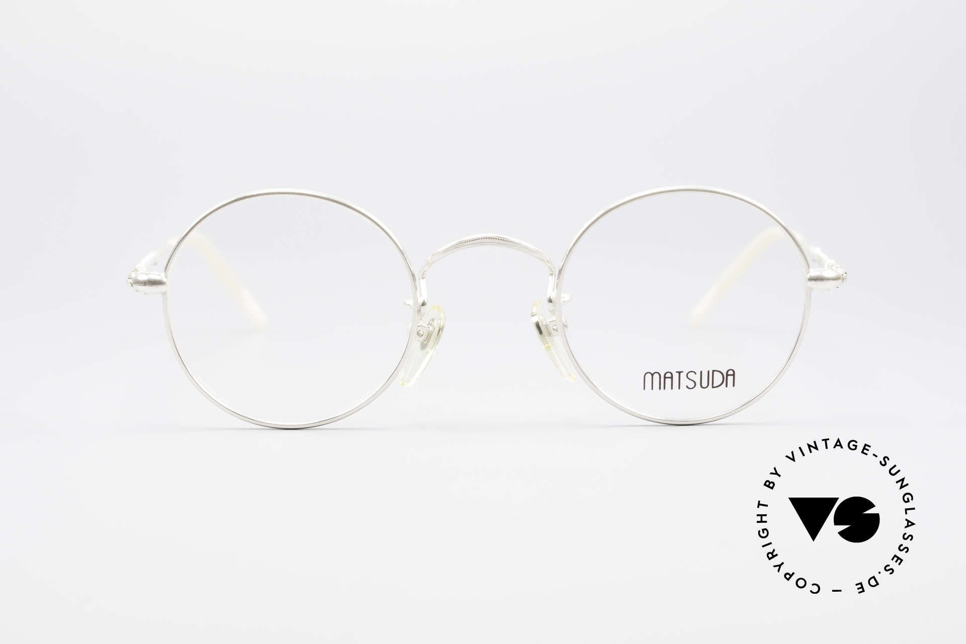 Matsuda 2872 Round 90's Designer Glasses, outstanding craftsmanship by the Japanese manufactory, Made for Men and Women