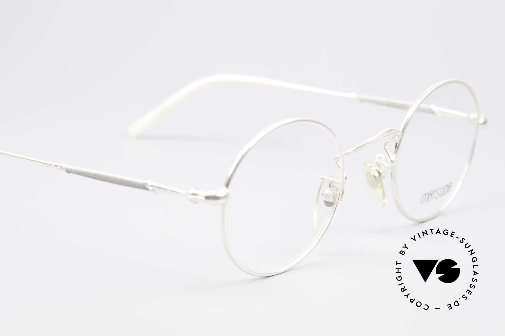 Matsuda 2872 Round 90's Designer Glasses, UNWORN rarity (a 'MUST HAVE' for all lovers of quality), Made for Men and Women