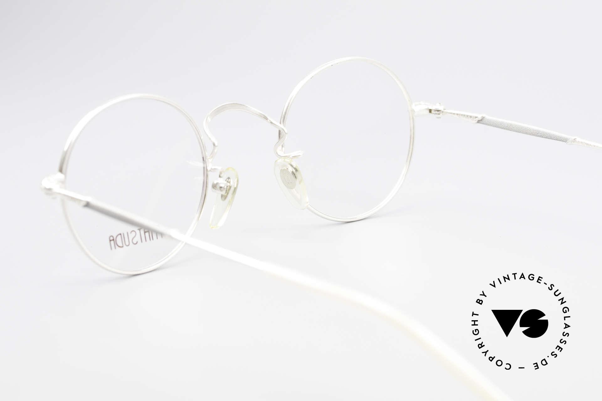 Matsuda 2872 Round 90's Designer Glasses, NO retro eyeglasses, but a 25 years old ORIGINAL, vertu, Made for Men and Women