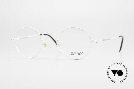 Matsuda 2872 90's Designer Glasses Round Details