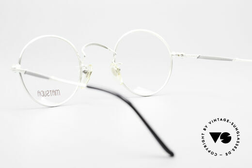 Matsuda 2872 90's Designer Glasses Round, NO retro eyeglasses, but a 25 years old ORIGINAL, vertu, Made for Men and Women