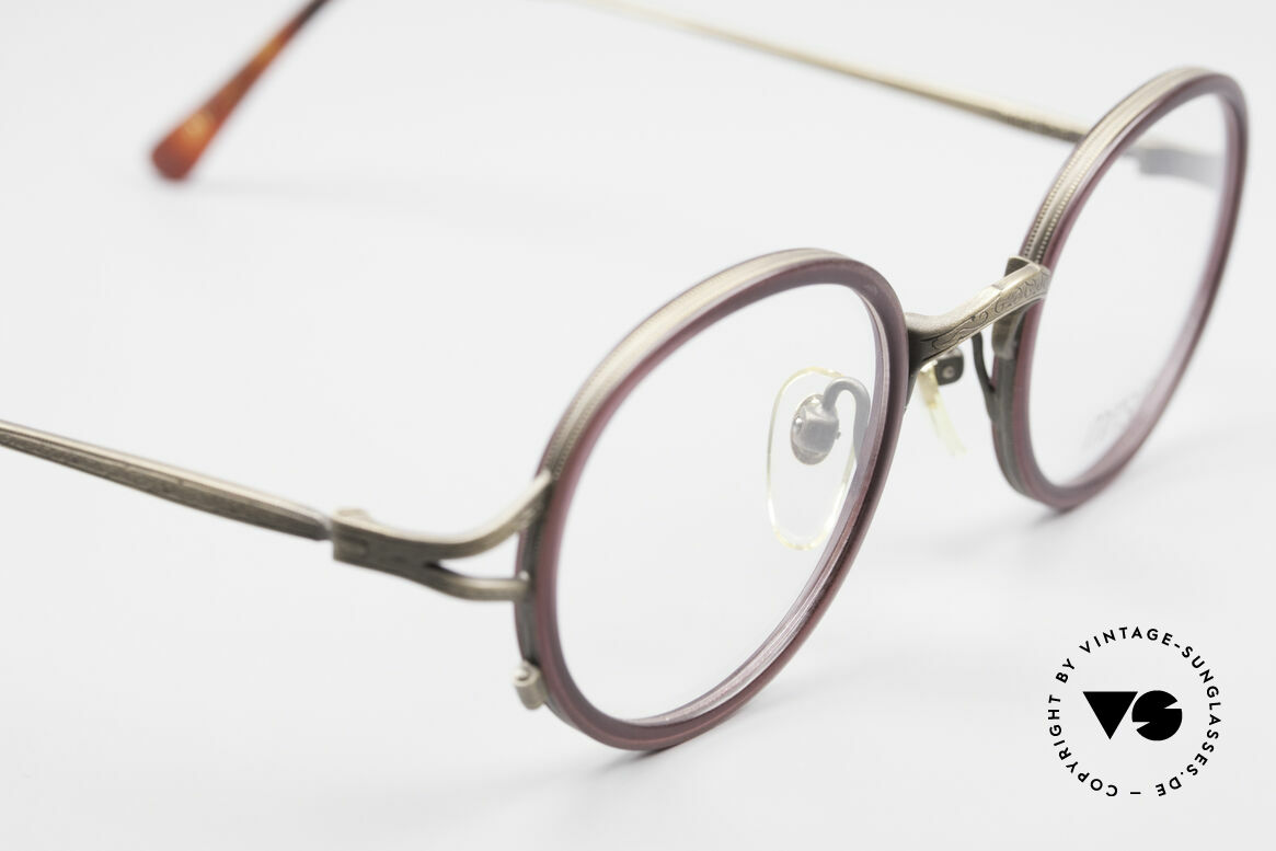 Matsuda 2835 Round 90's Eyeglass-Frame, unworn rarity (a 'must have' for all lovers of quality), Made for Men and Women