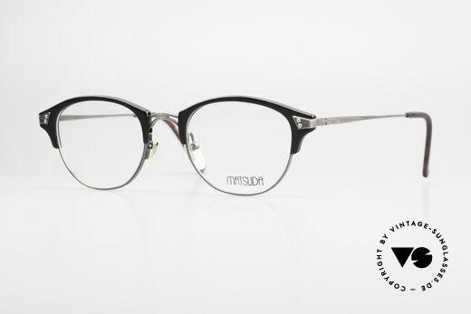 Matsuda 2840 Panto Luxury Eyeglass-Frame Details