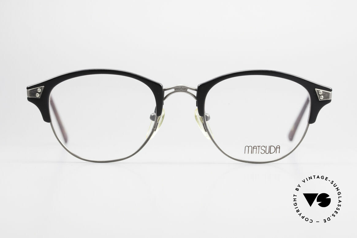 Matsuda 2840 Panto Luxury Eyeglass-Frame, MATSUDA = a synonym for elaborate craftsmanship, Made for Men and Women