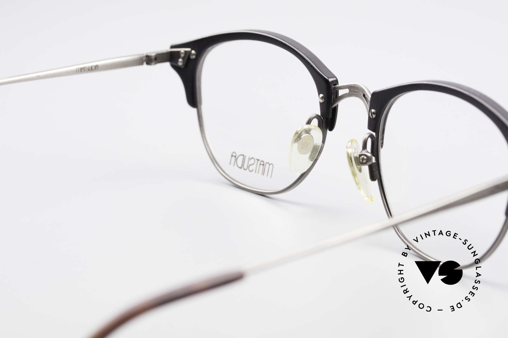 Matsuda 2840 Panto Luxury Eyeglass-Frame, NO RETRO eyeglasses, but a 25 years old ORIGINAL!, Made for Men and Women