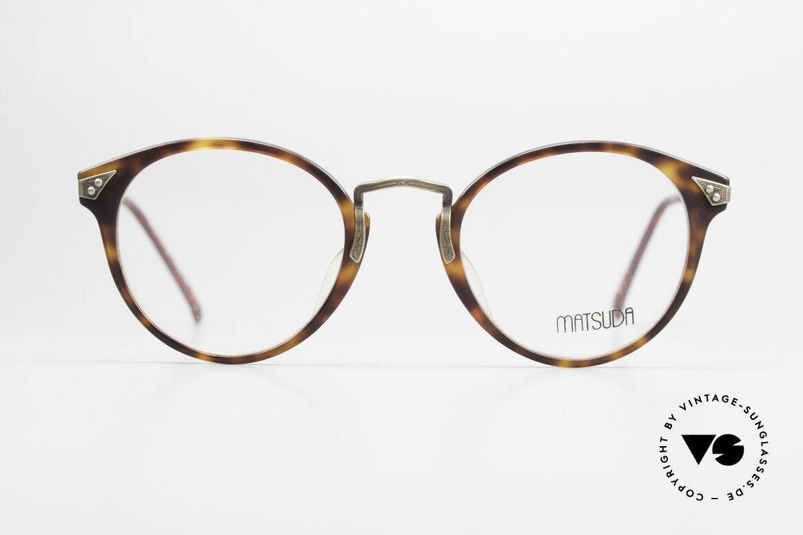 Matsuda 2805 Vintage Glasses Panto Style, high-end quality = a matter of course for Matsuda, Made for Men and Women