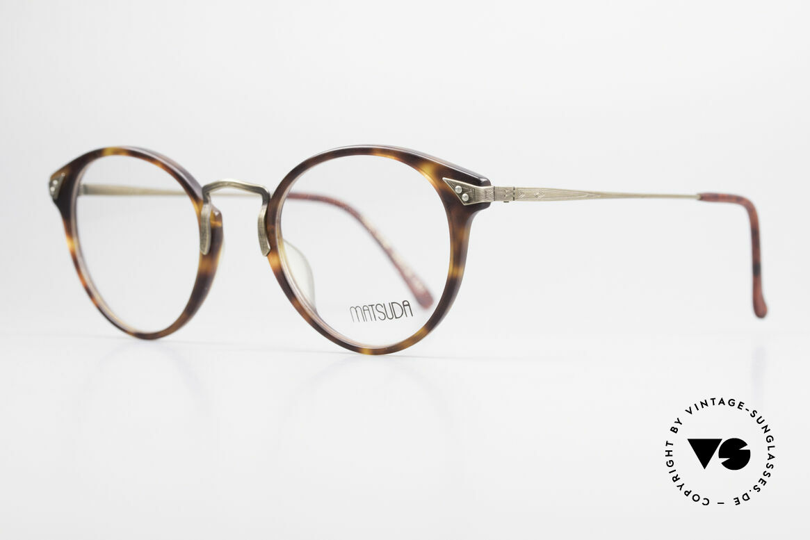 Matsuda 2805 Vintage Glasses Panto Style, finest components and TOP-NOTCH craftsmanship, Made for Men and Women