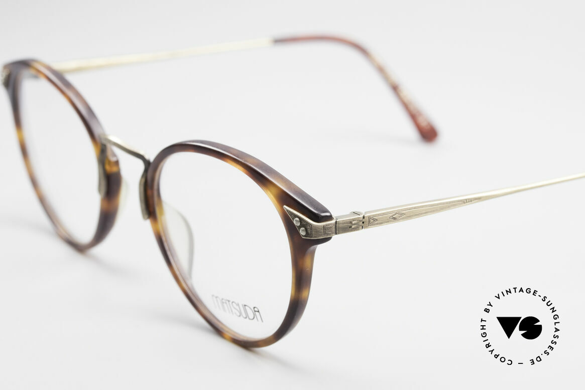 Matsuda 2805 Vintage Glasses Panto Style, timeless combination of color & design; a classic!, Made for Men and Women