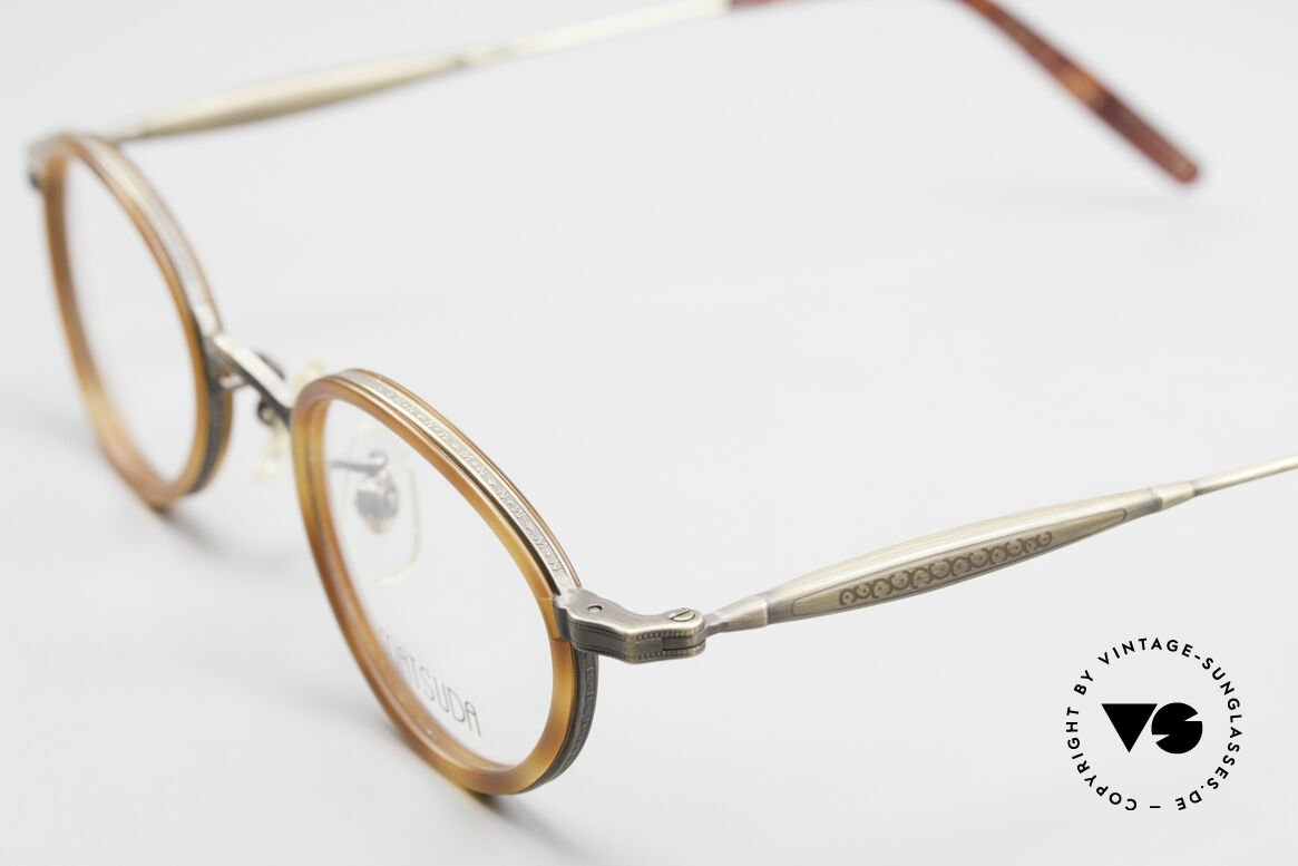 Matsuda 10401 Vintage Eyeglass-Frame Oval, timeless combination of color & design; a classic!, Made for Men and Women