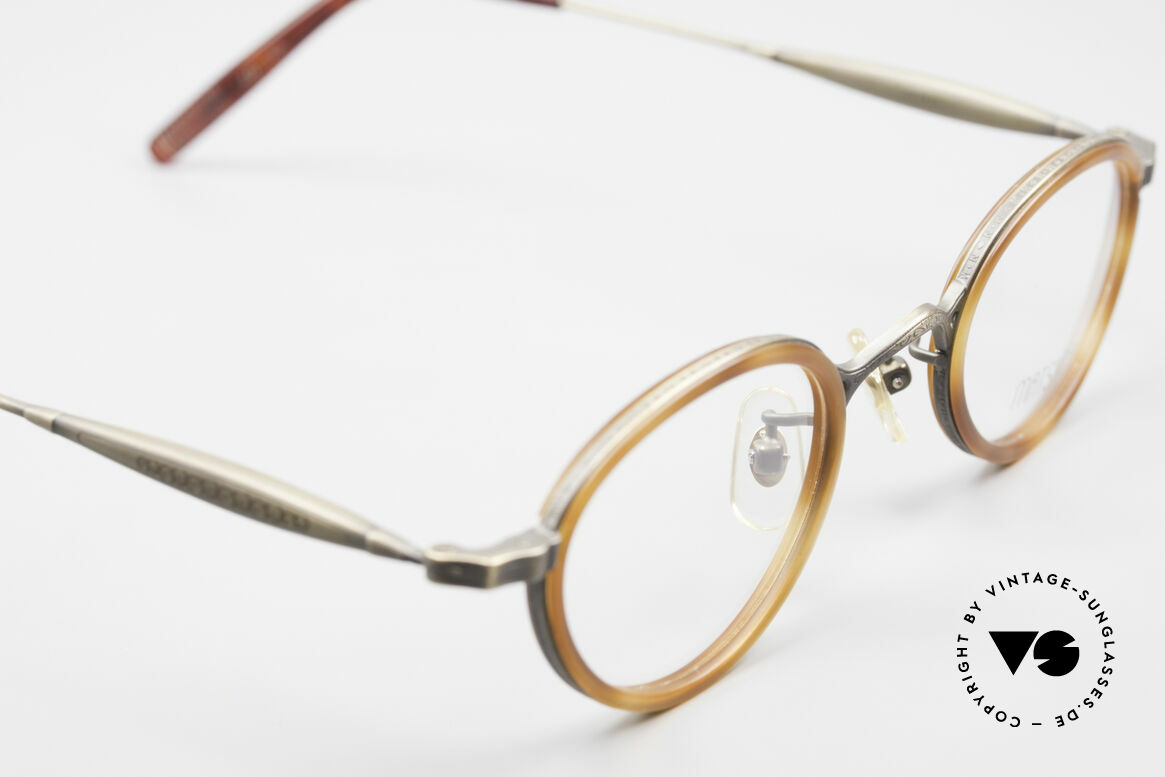 Matsuda 10401 Vintage Eyeglass-Frame Oval, unworn rarity (like all our vintage Matsuda specs), Made for Men and Women