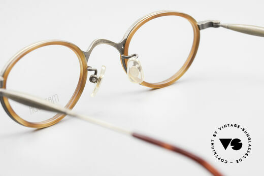 Matsuda 10401 Vintage Eyeglass-Frame Oval, Size: small, Made for Men and Women