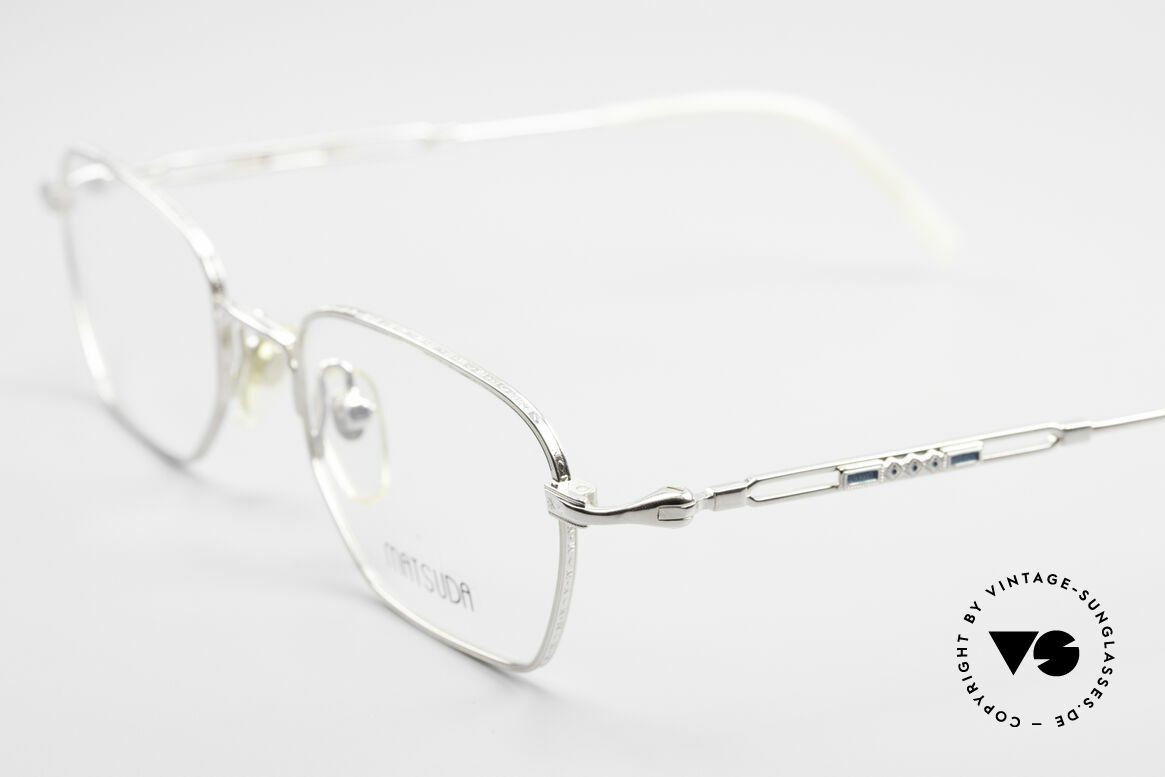 Matsuda 2882 Vintage Eyeglasses Square, timeless combination of color & design; a classic!, Made for Men
