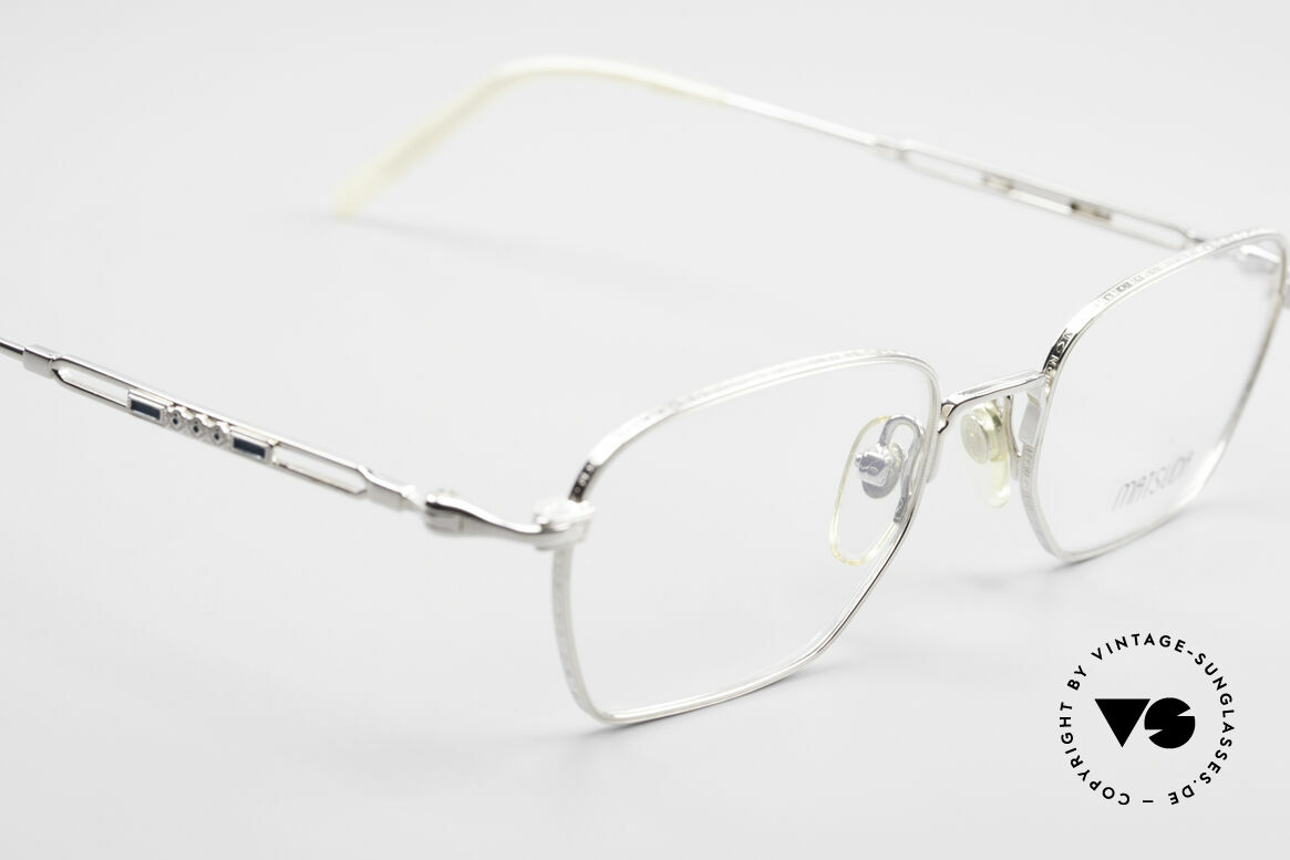 Matsuda 2882 Vintage Eyeglasses Square, unworn rarity (like all our vintage Matsuda specs), Made for Men