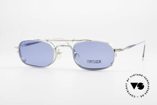 Matsuda 10108 Steampunk Sunglasses 90's Details