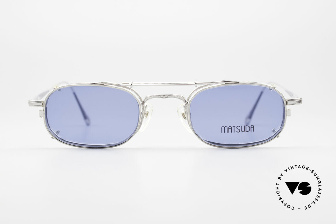Matsuda 10108 Steampunk Sunglasses 90's, 'Steampunk sunglasses' by the jap. 'design manufactory', Made for Men