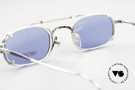 Matsuda 10108 Steampunk Sunglasses 90's, Size: medium, Made for Men