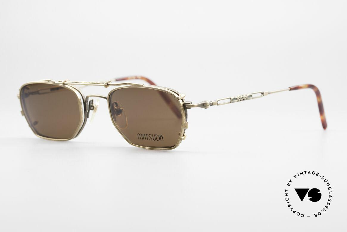 Matsuda 2882 Vintage Frame With Sun Clip