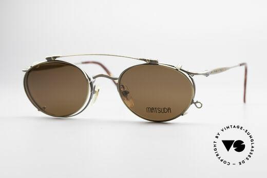 Matsuda 2853 Steampunk Vintage Shades Details