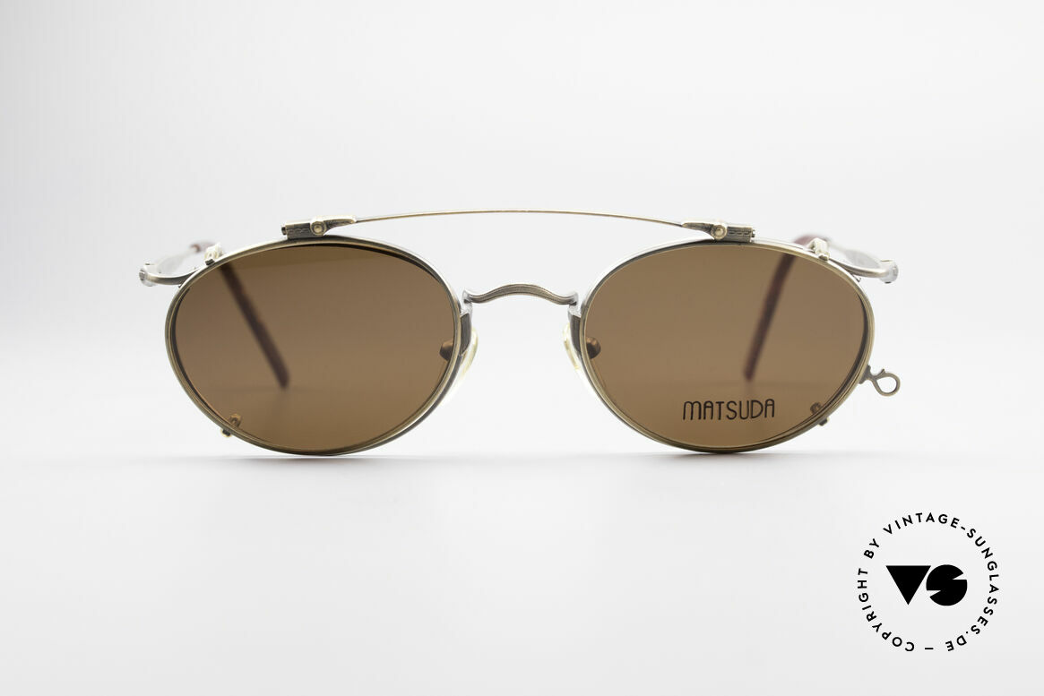 Matsuda 2853 Steampunk Vintage Shades, 'Steampunk sunglasses' by the jap. 'design manufactory', Made for Men