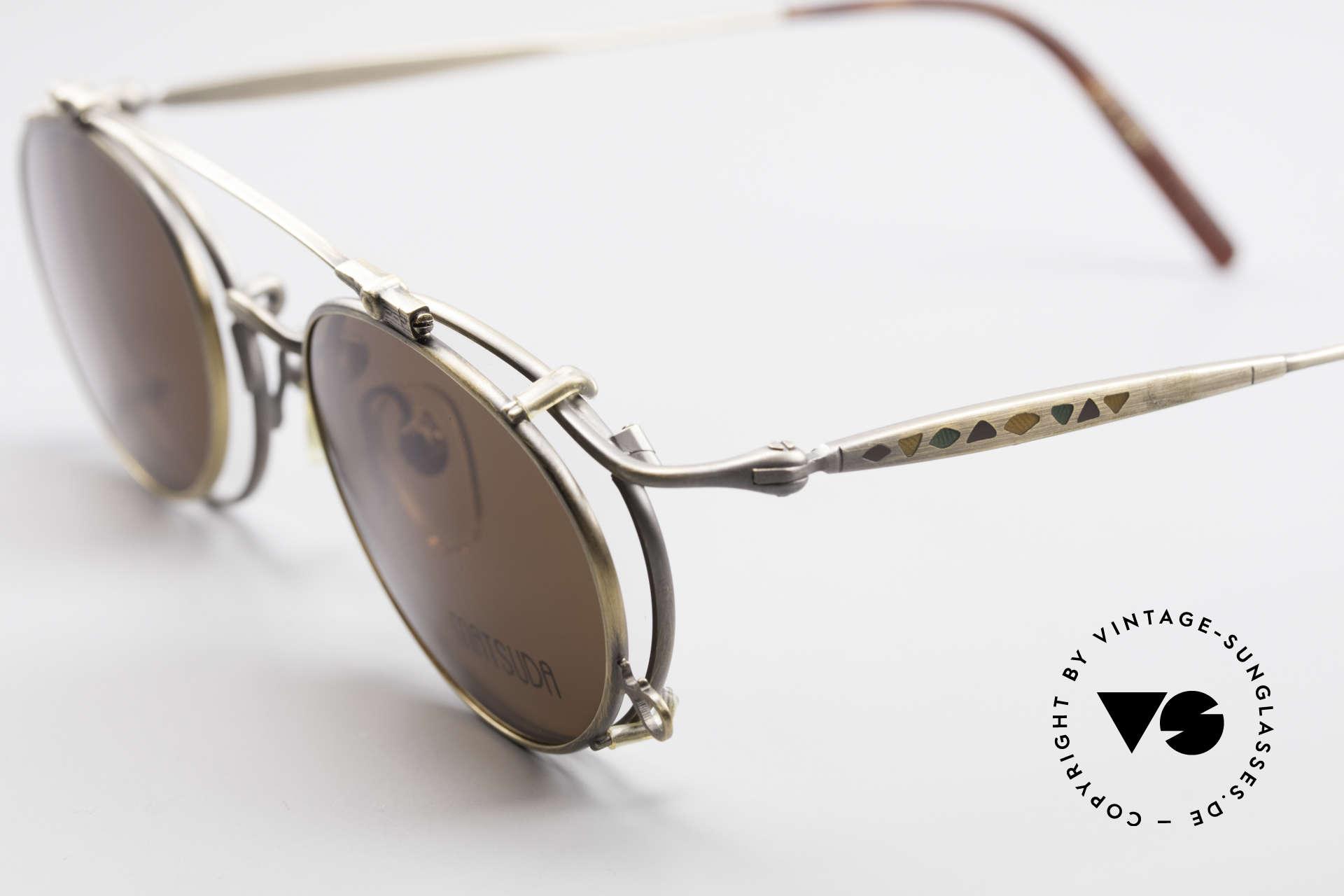 Matsuda 2853 Steampunk Vintage Shades, e.g. Sarah Connor wore Matsuda shades in Terminator 2, Made for Men