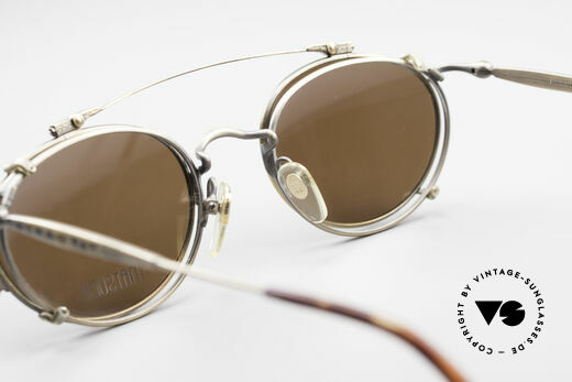 Matsuda 2853 Steampunk Vintage Shades, true vintage designer piece in high-end quality; vertu!!, Made for Men