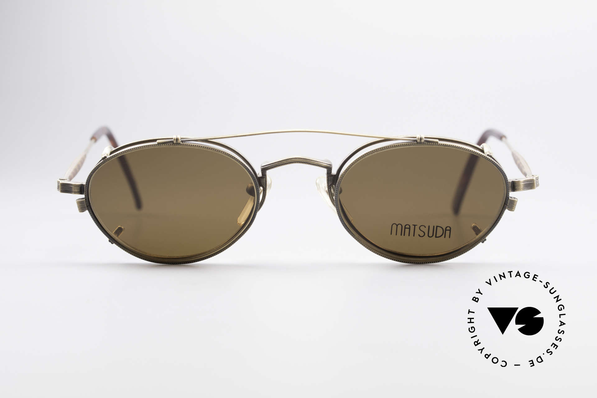 Matsuda 10102 Vintage Steampunk Shades, 'Steampunk sunglasses' by the jap. 'design manufactory', Made for Men