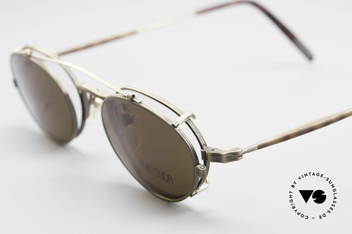 Matsuda 10102 Vintage Steampunk Shades, unworn rarity (a 'must have' for all art & fashion lovers), Made for Men