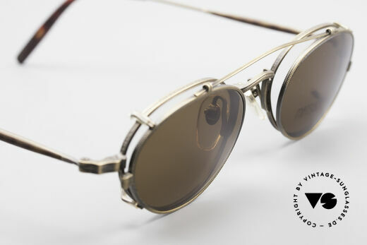 Matsuda 10102 Vintage Steampunk Shades, true vintage designer piece in high-end quality; vertu!!, Made for Men