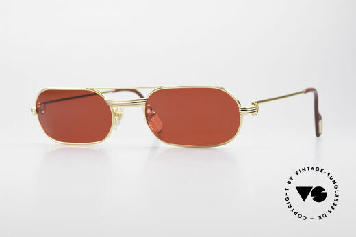 Cartier MUST LC - M 3D Red Luxury Sunglasses Details