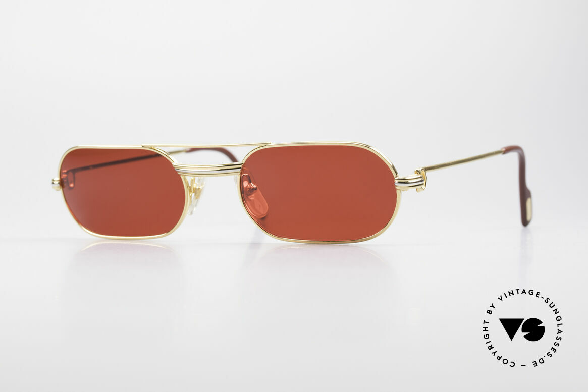 Cartier MUST LC - M 3D Red Luxury Sunglasses