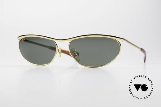 Ray Ban Olympian IV Deluxe B&L Vintage USA Sunglasses Details
