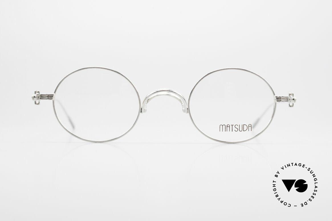Matsuda 10107 90s Vintage Eyeglasses Round