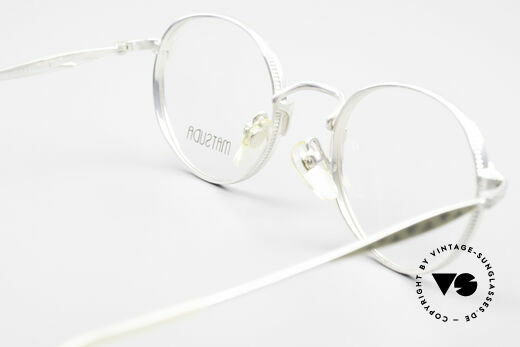 Matsuda 2858 Round Vintage Designer Frame, unworn rarity for people, who can appreciate this effort, Made for Men and Women