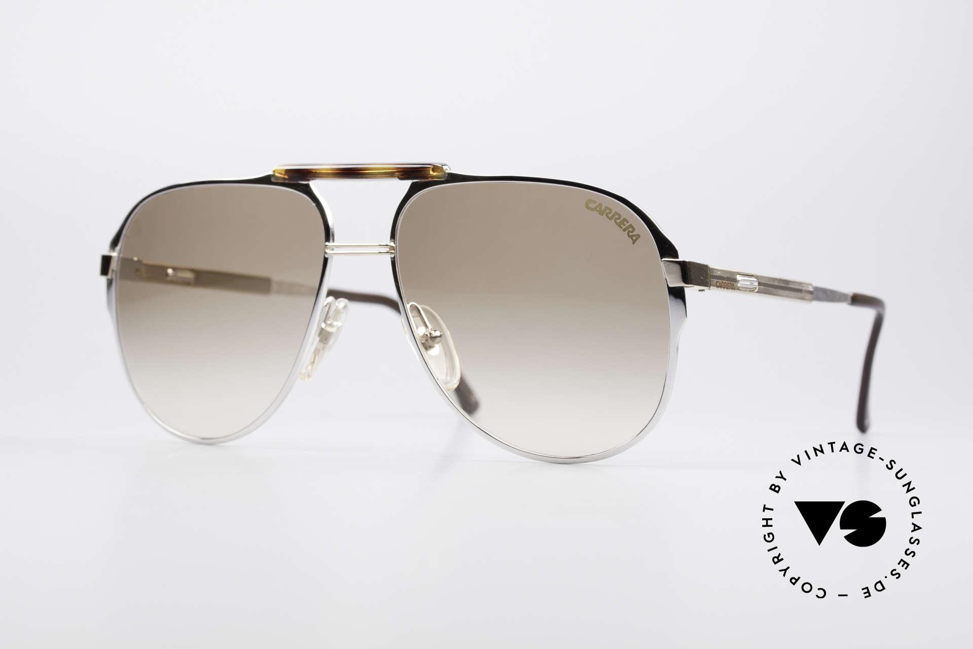 Carrera 5320 Adjustable Temples 80's Vario, brilliant 1980's aviator sunglasses by CARRERA, Made for Men