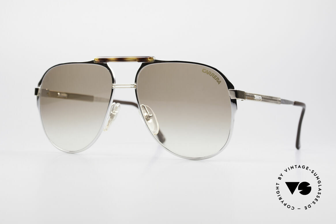 Carrera 5320 Adjustable Temples 80's Vario, brilliant 1980's aviator sunglasses by CARRERA, Made for Men