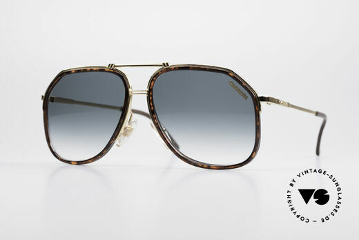 Carrera 5370 Classic Vintage Sunglasses Details