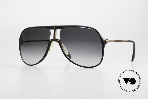 Menrad 727 Rare 80's Quality Sunglasses Details