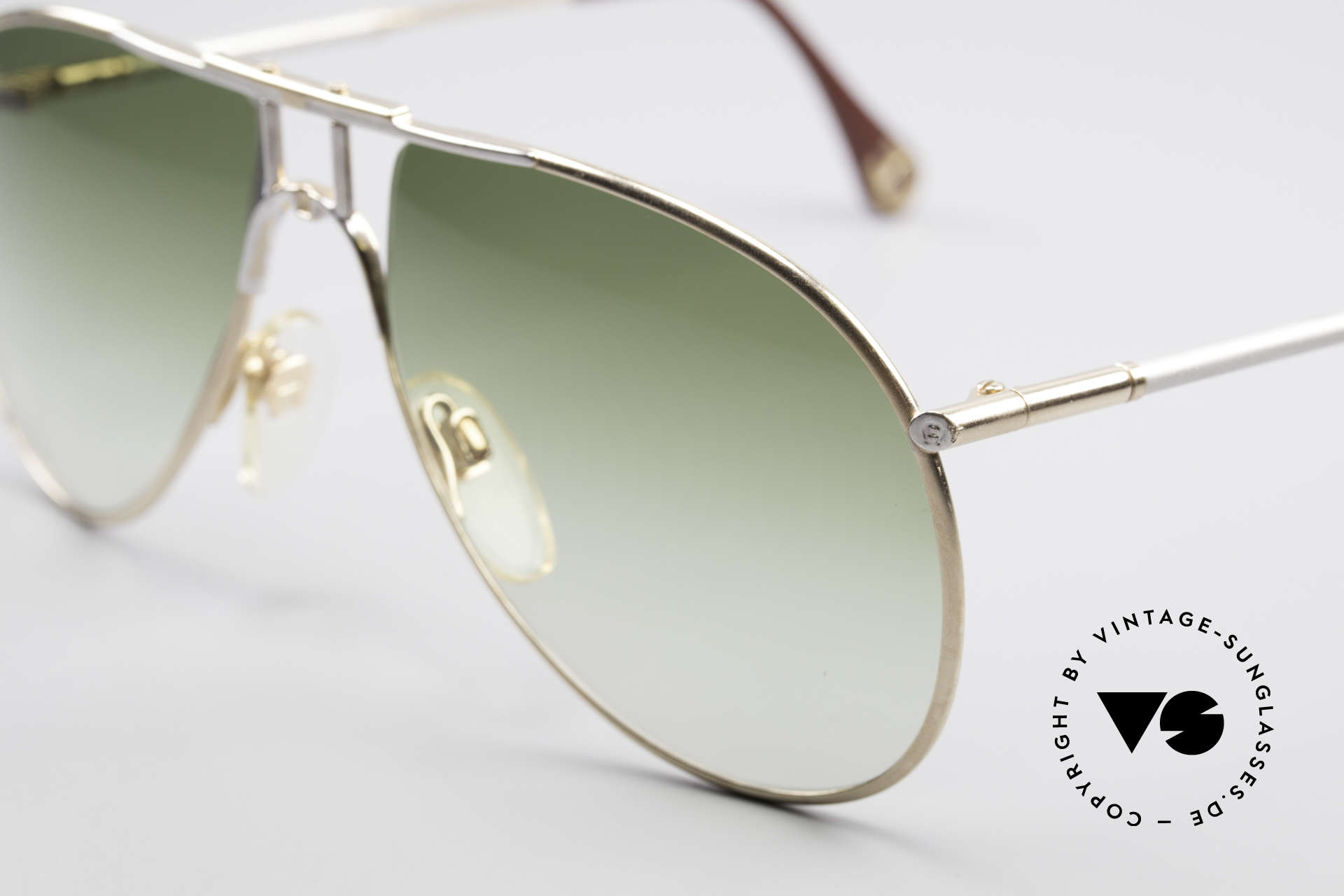 Aigner EA4 80's Luxury Sunglasses Men, outstanding craftsmanship; frame with serial no. '8048', Made for Men