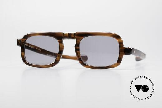 Robert La Roche 15 Rare 70's Folding Sunglasses Details