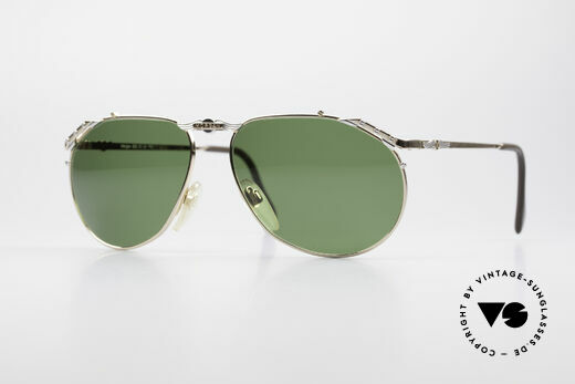 Morgan Motors 803 Oldtimer Sunglasses 1980's Details
