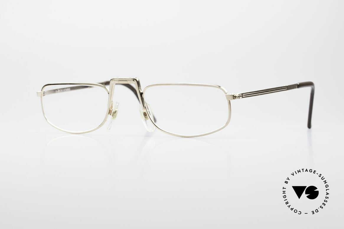 Christian Dior 2172 Folding Reading Eyeglasses, unique 1980's designer piece by Christian Dior, Made for Men