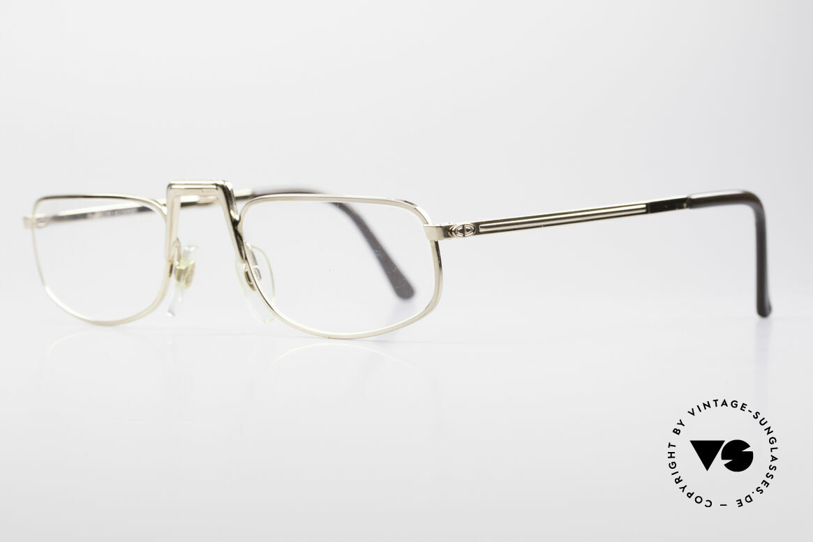 Christian Dior 2172 Folding Reading Eyeglasses, unicum from the 'Monsieur Series' in size 52°22, Made for Men