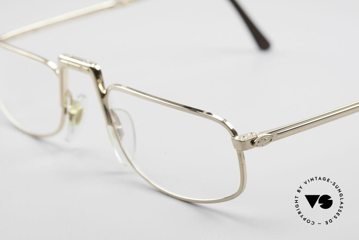 Christian Dior 2172 Folding Reading Eyeglasses, unworn (like all our vintage reading eyeglasses), Made for Men