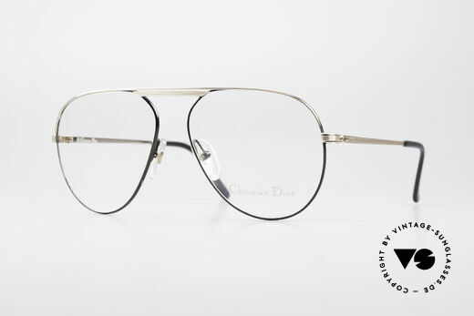 Christian Dior 2536 Vintage Aviator Glasses Men Details