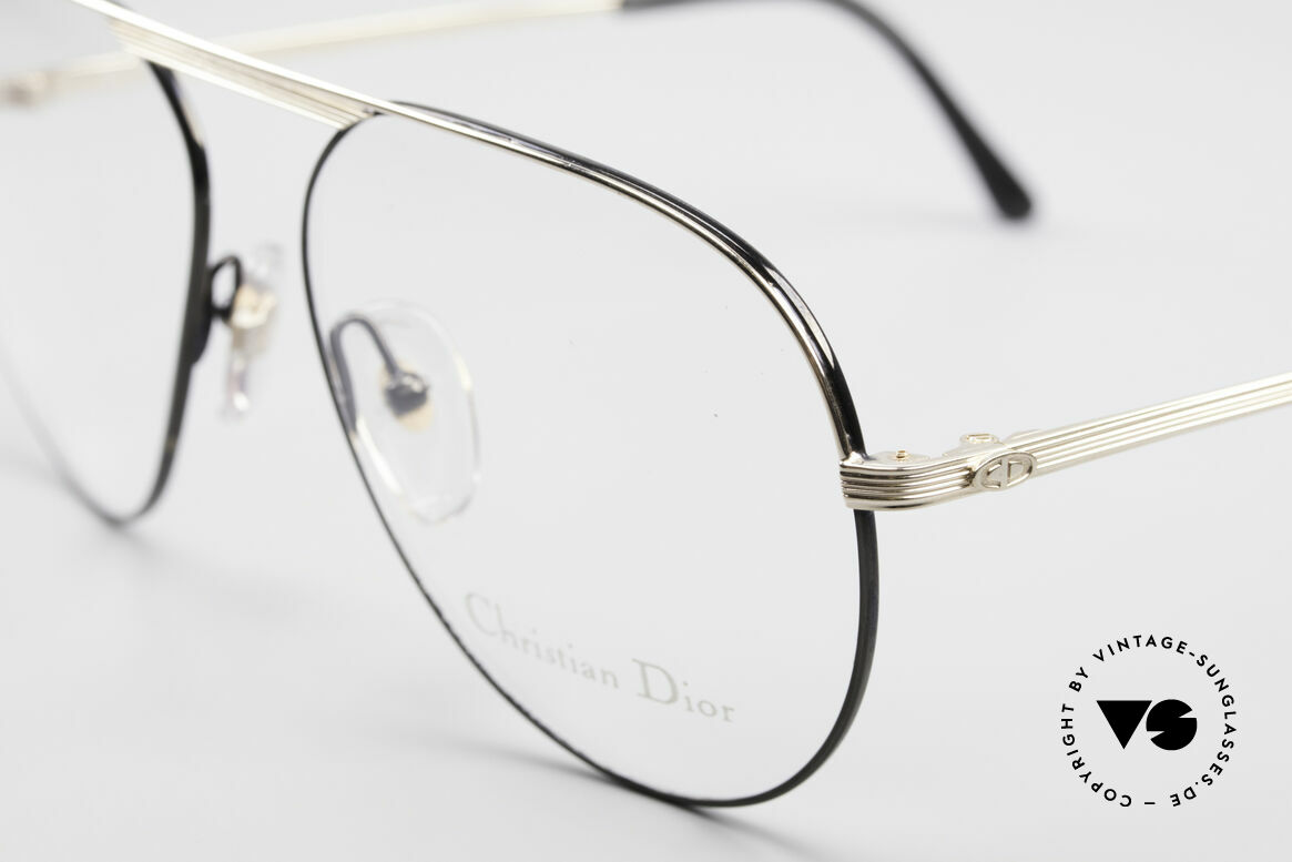 Christian Dior 2536 Vintage Aviator Glasses Men, never worn (like all our vintage Dior eyewear), Made for Men