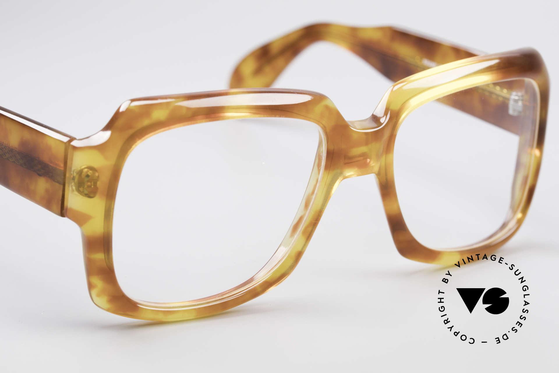 Zollitsch 249 70's Old School Eyeglasses, noble, timeless frame pattern: 130 width = S / M size, Made for Men