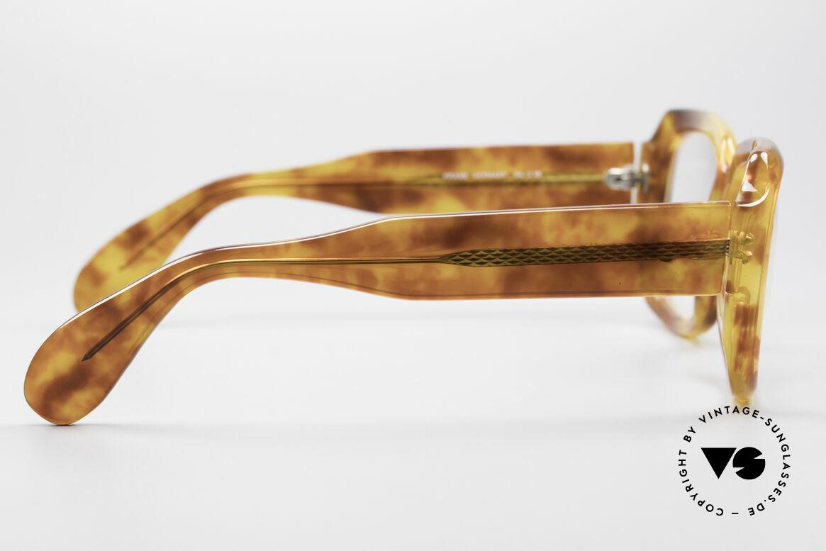Zollitsch 249 70's Old School Eyeglasses, unworn (like all our rare vintage ZOLLITSCH frames), Made for Men