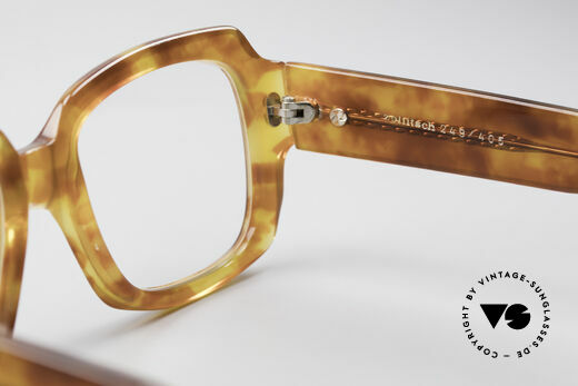 Zollitsch 249 70's Old School Eyeglasses, NO RETRO EYEWEAR, but an app. 40 years old rarity!, Made for Men
