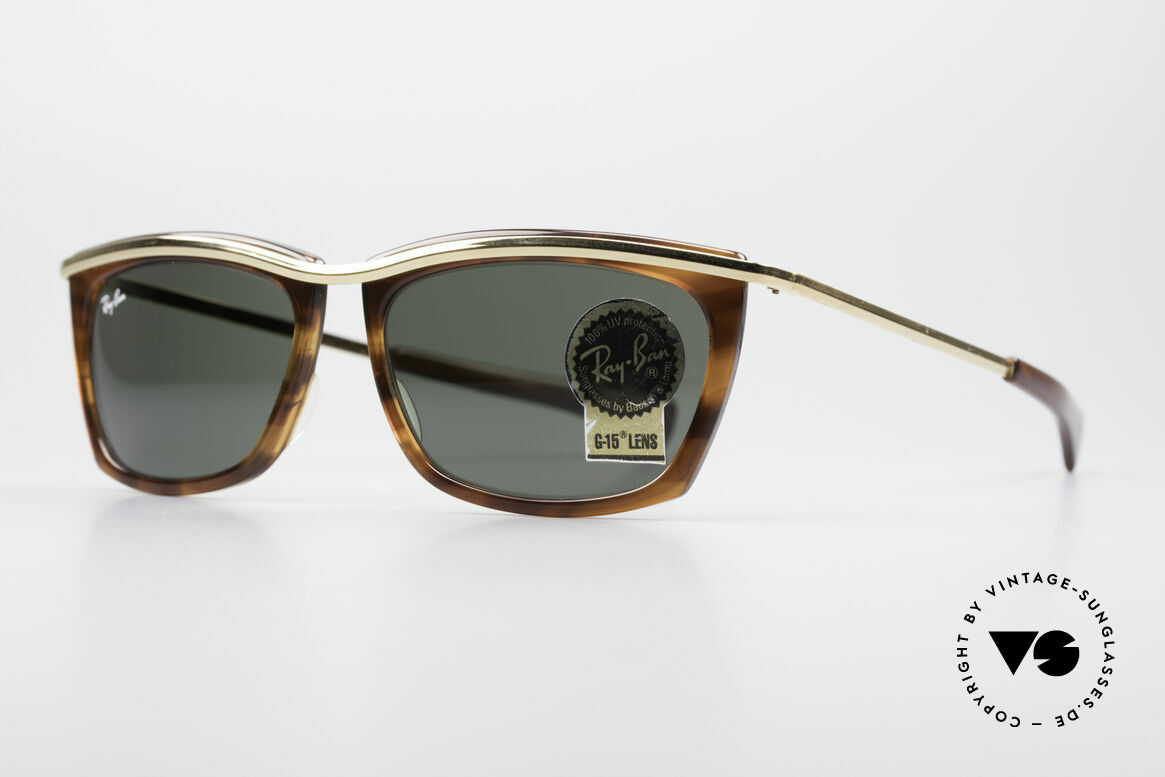 Ray Ban Olympian II B&L Ray-Ban USA Sunglasses, with B&L G15 mineral lenses; 100% UV protection, Made for Men and Women