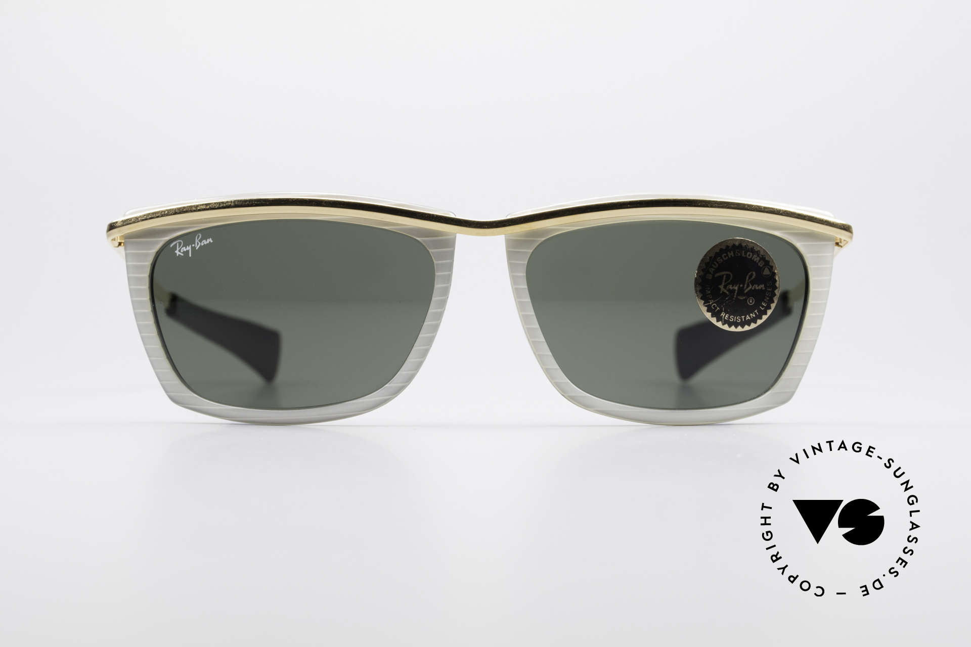 d7c76cf58ec You may also like these glasses. Ray Ban Deco Metals Carre Rare B L USA  90 s Sunglasses Details